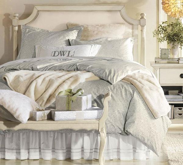 Arredare la casa in stile shabby chic viviconstile - Camera da letto stile shabby chic ...
