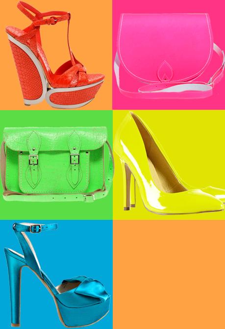 Tendenze moda i colori fluo viviconstile for Colori fluo