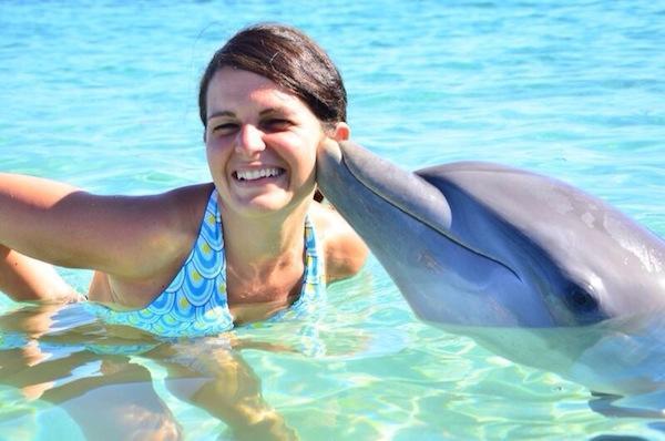 Le pi belle foto delle vacanze dei lettori viviconstile - Zoomarine bagno coi delfini ...