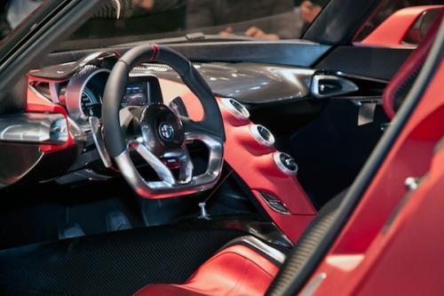 Alfa Romeo 4c 2013 Interni Alfa Romeo 4c Interni
