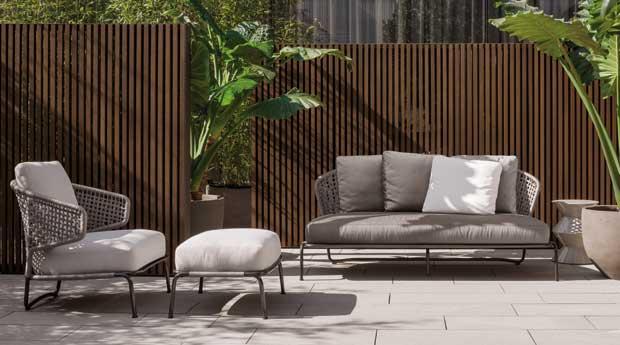 ... mobili da giardino di design adatta per il contract ma anche per il